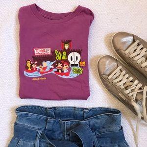 PAUL FRANK Julius & Friends Character T-Shirt S